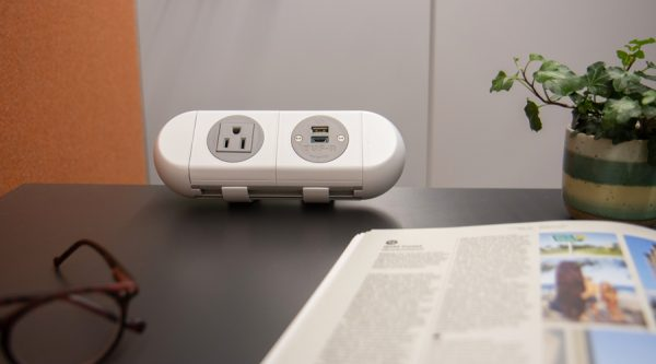 white power solutions, office power, desk power unit, working from home power, usb power unit, usb c power unit, nema charging unit, office, working from home,