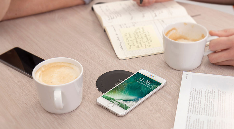 wireless charger, convenient charging, agile workspace