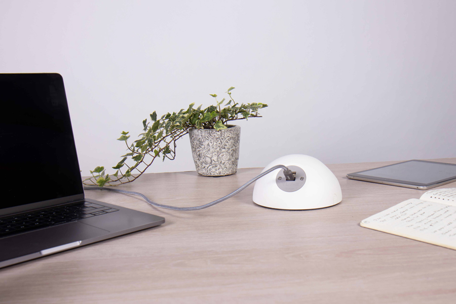 on surface white usb fast charging, on surface accessible usb, fast charger, charging for hospitality, charging on surface,