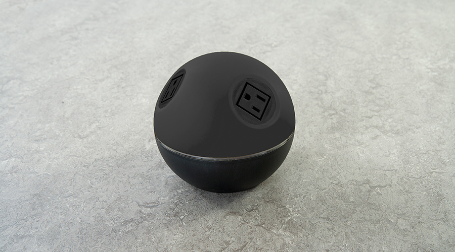 stylish on surface power unit with nema sockets