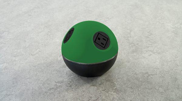 stylish on surface power unit with nema sockets v