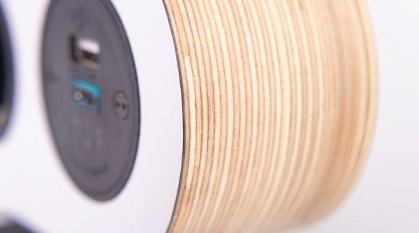 ply on surface, hip award winner charging unit alpine white birch ply wood