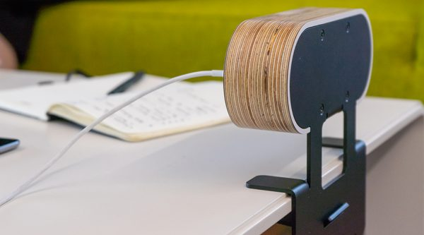 ply on surface, hip award winner charging unit gray birch ply wood