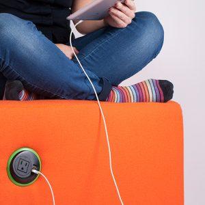 in surface mounted nema socket