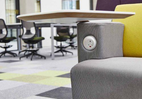 OE Pixel in Soft-Seating at University of Birmingham, UK