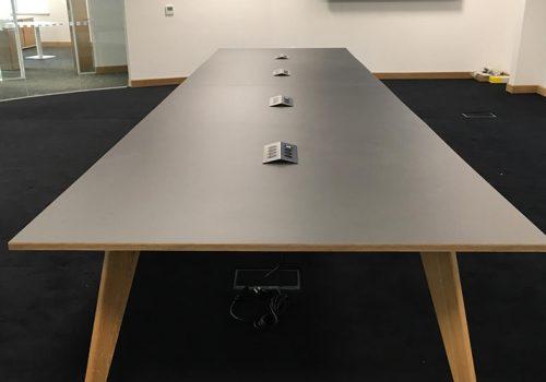 Green Furniture Custom Conference Table (Peak)