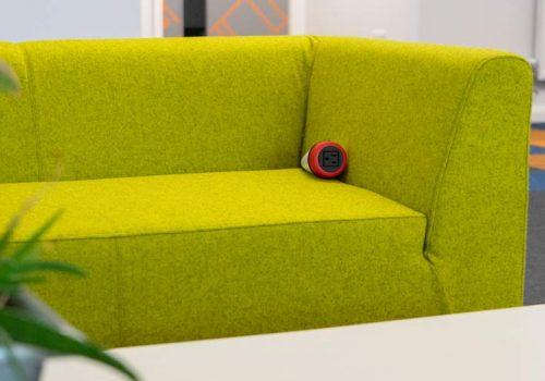 powered soft furniture, sofa with charging, nema power, nema sofa power
