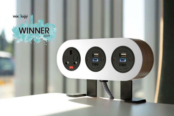 mixology award winner, charging solution, charging unit
